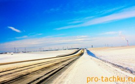 Вождение на скользкой дороге