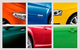 Выбираем цвет автомобиля