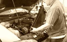 Очистка и промывка автомобильного радиатора