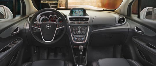 Opel Mokka интерьер
