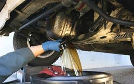 Самостоятельная замена масла в двигателе