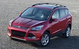 Обзор Ford Kuga 2013