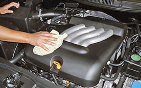 Самостоятельная мойка двигателя автомобиля