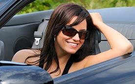Правильная посадка водителя за рулем