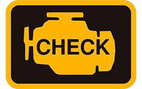 Что делать, если горит индикатор неисправности двигателя?