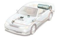 Газобалонное оборудование на автомобиле