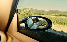 Как правильно настроить зеркала заднего вида?