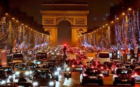 Автомобильные пробки в Европе