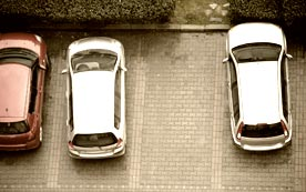 Учимся правильно парковаться