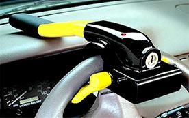 Механические противоугонные устройства для автомобилей
