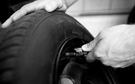 Азот в колесах – зачем это нужно