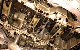 Балансирные валы двигателя и их установка