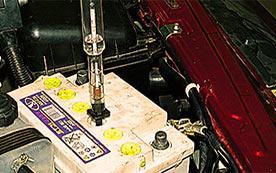 Как поднять плотность в аккумуляторе?