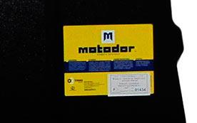 Защита картера Мотодор