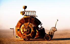 Самая медленная машина в мире