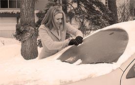 Что делать, если замерзли стекла в автомобиле?