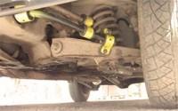 Задний и двойной передний стабилизатор на ВАЗ классике