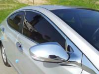 Как клеить хромированные накладки на автомобиль
