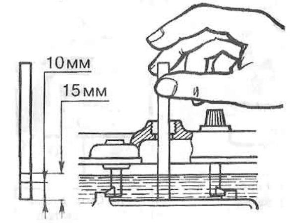 методы измерение уровня электролита