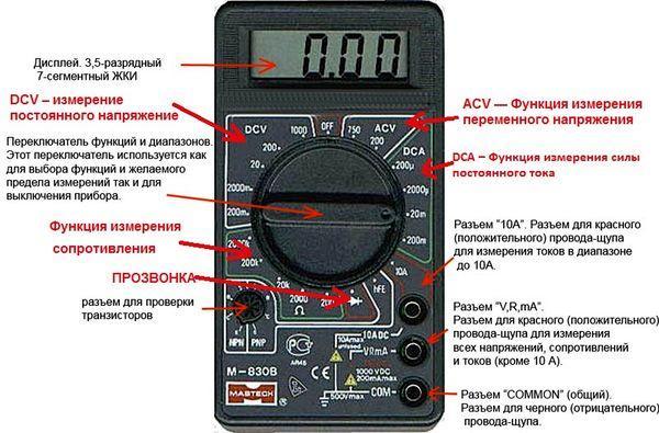 прибор для измерения напряжения